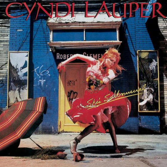 Cindy Lauper - She's So Unusual -  (1983) Portrait Records