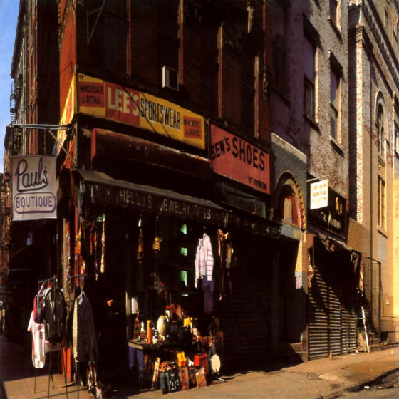 """Paul's Boutique"" (1989), by Beastie Boys. Courtesy, EMI Records"