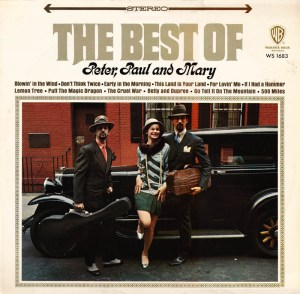 PETER, PAUL AND MARY - The Best Of (1970) Warner Bros Records