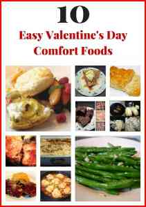 Easy comfort foods to make for Valentine's Day