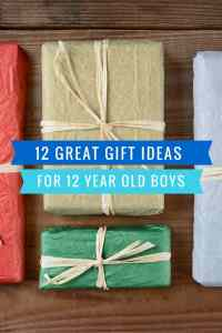 12 Great Gift Ideas for a 12 Year Old Boy