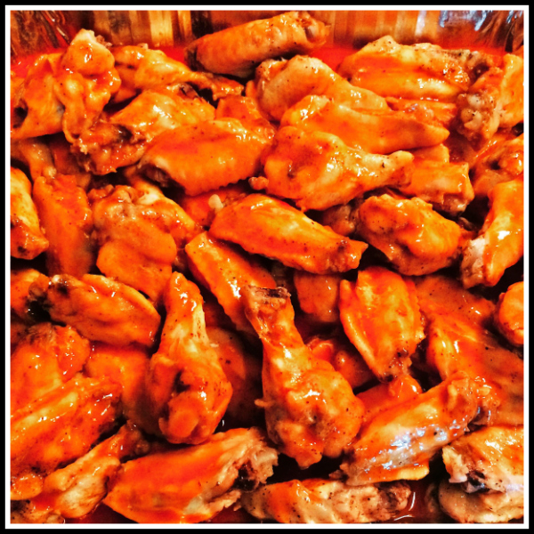 Easy Baked Buffalo Wings Recipe (A Healthier Alternative)