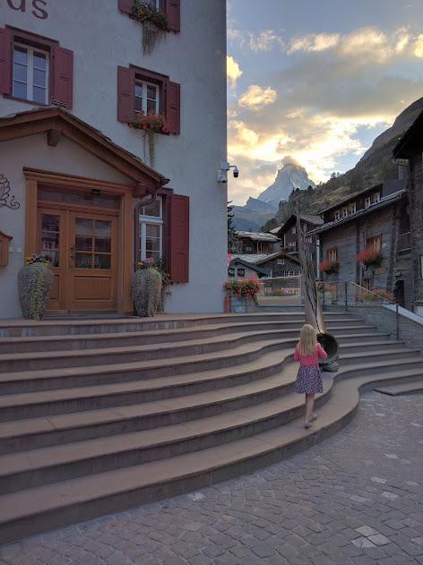 A Summer Weekend in Zermatt