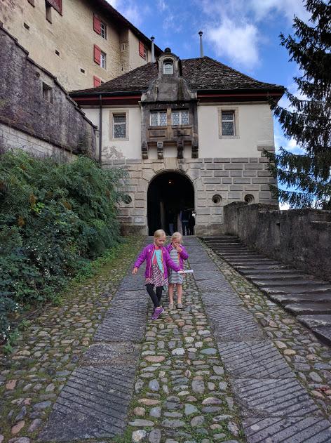 Swiss Castle Day- A treasure hunt at Lenzburg Castle