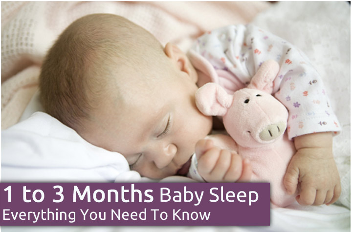 1 to 3 Month Old Baby Sleep - Everything You Need To Know