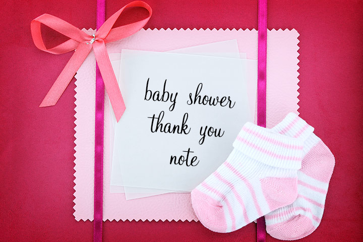 Baby Shower Thank You Notes How To Write And What To Write (With