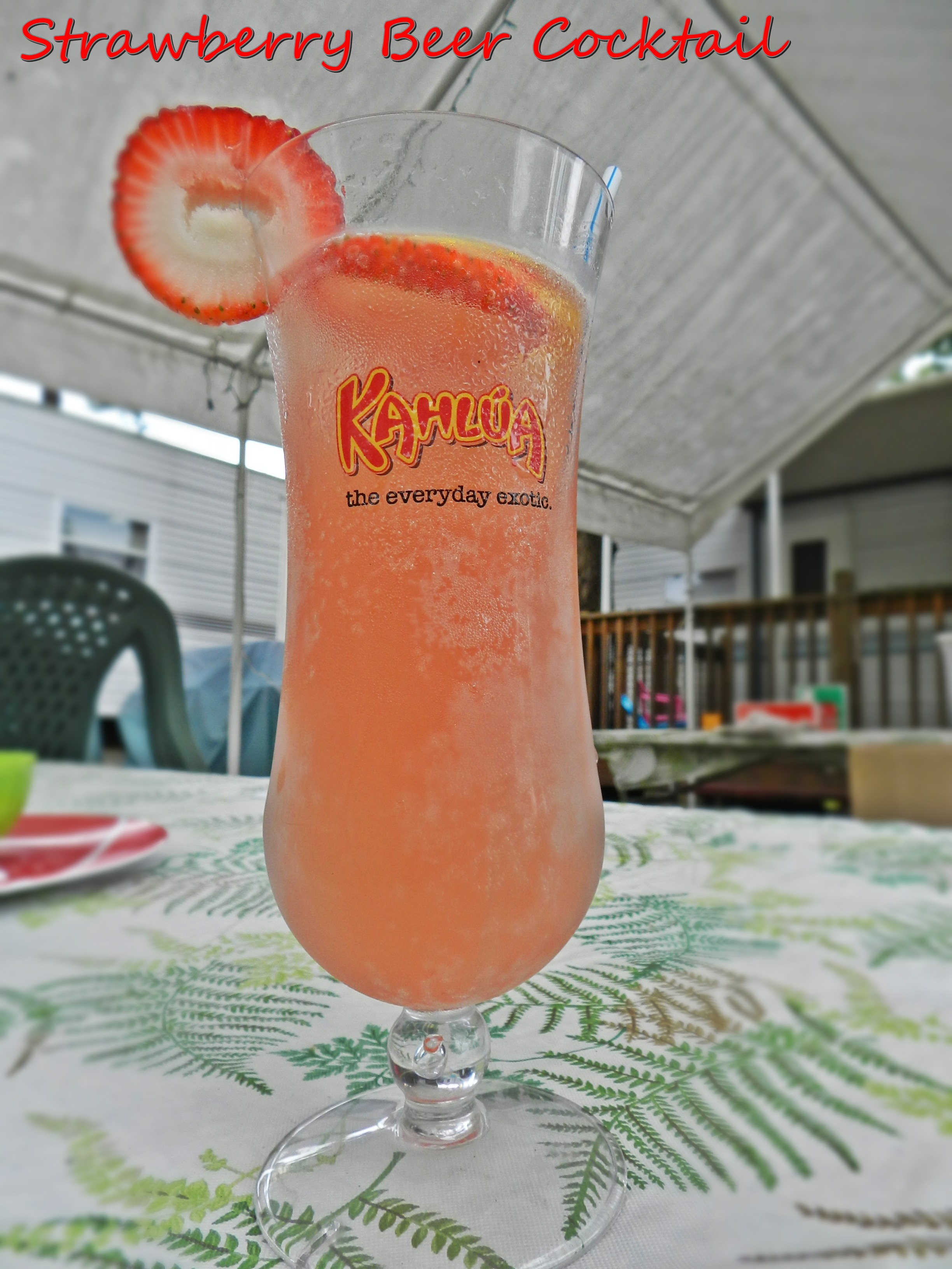 Strawberry Beer Cocktail (1)