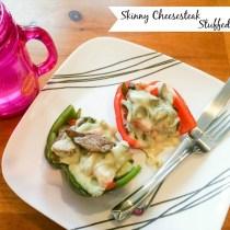 Skinny Steak Stuffed Peppers