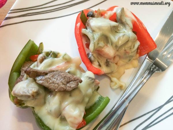 Skinny Steak Stuffed Peppers5