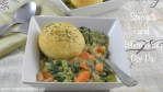 Spinach & White Bean Pot Pie
