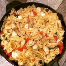 Chicken Caprese Skillet Dinner FB