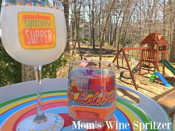 Mom's Wine Spritzer
