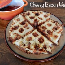 Cheesy Potato Waffles FB