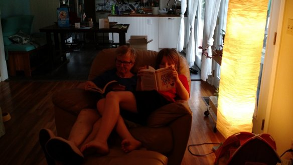 Started out reading together.
