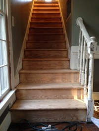 Making an Old Set of Stairs Look New