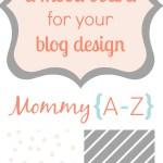 Blog Mood Board