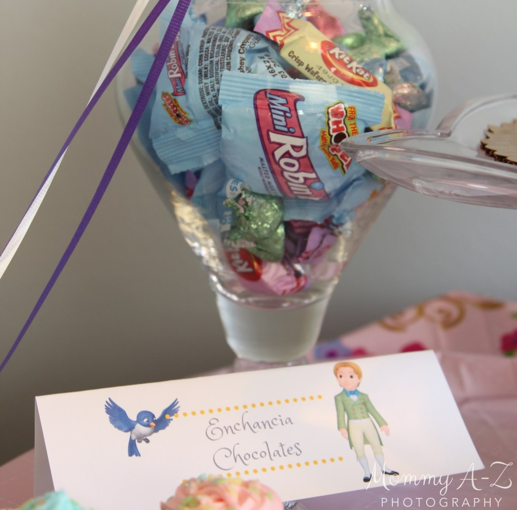 Sofia the First Birthday Food Labels