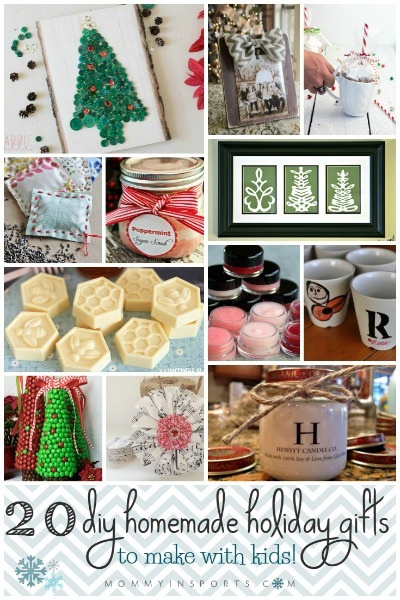 20 diy homemade holiday gifts to make with kids