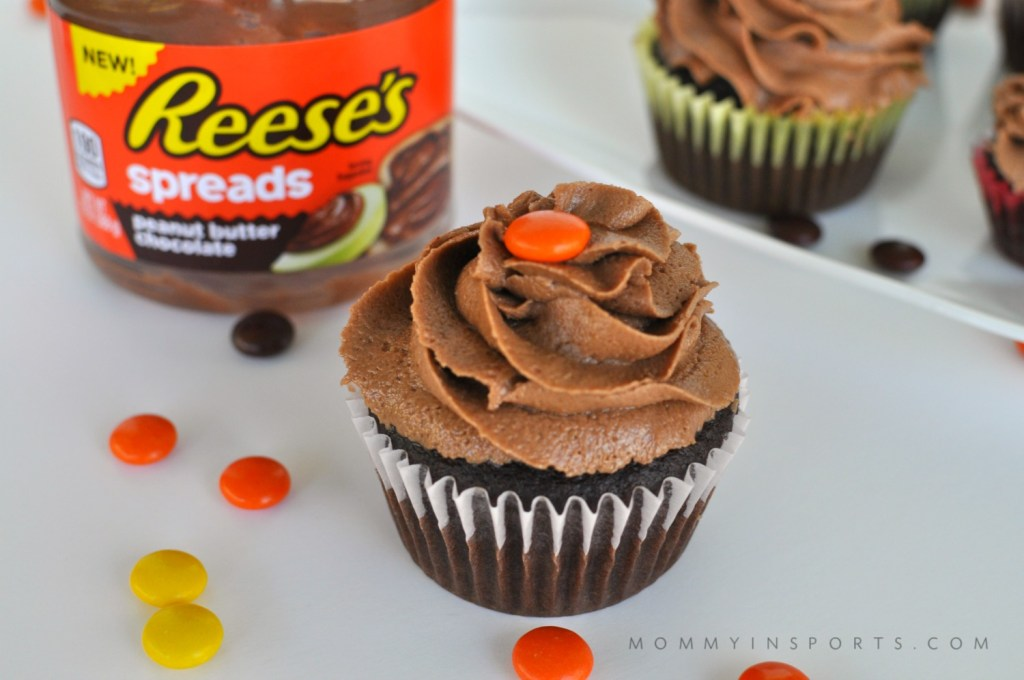 Love Reese's Peanut Butter Cups? Make them into cupcakes with this divine recipe for Reese's Peanut Buttercream!