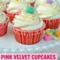 pink velvet cupcake title