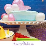 How To Make An Ombre Frosted Cake