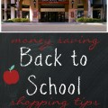 Money saving back to school shopping tips