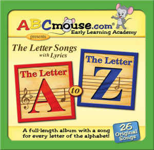 ABCMouse.com The Letter Songs A-Z cover