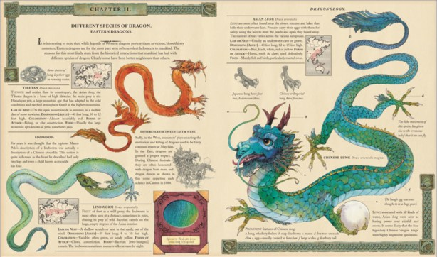 dragonology inside pages