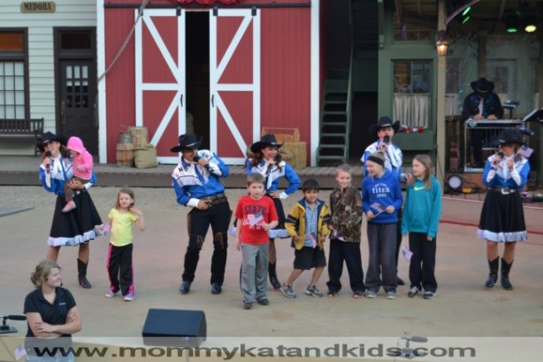 kids onstage medora musical north dakota
