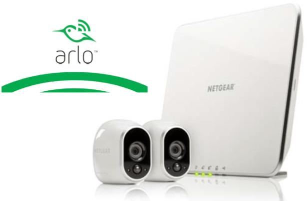 netgear arlo smart home security system