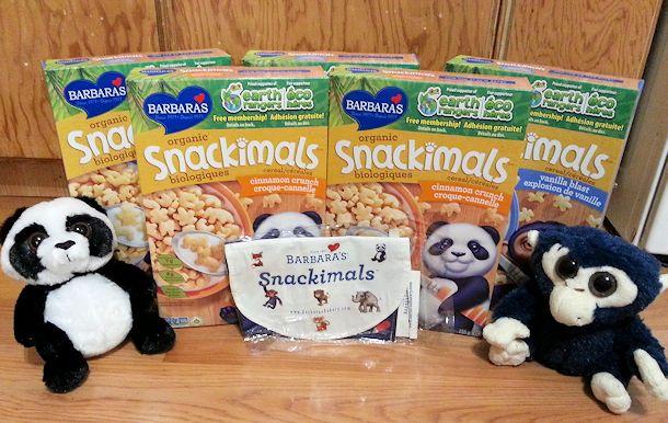 barbara's snackimals cereal