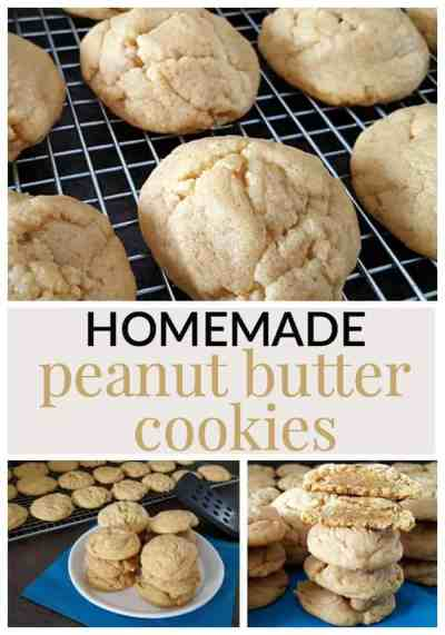 HOMEMADE PEANUT BUTTER COOKIE RECIPE - Mommy Moment