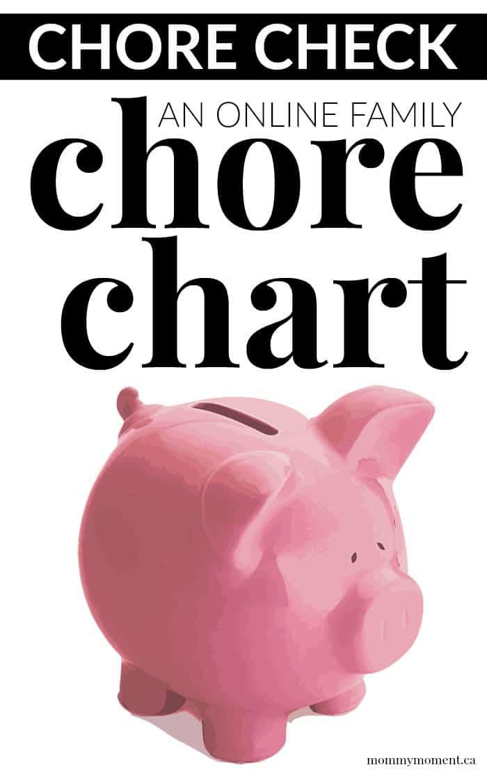 CHORE CHECK - AN ONLINE FAMILY CHORE CHART - Mommy Moment - chore chart online