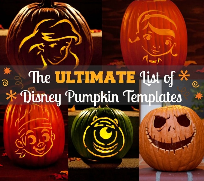 Free Disney Pumpkin Carving Templates - disney pumpkin templates