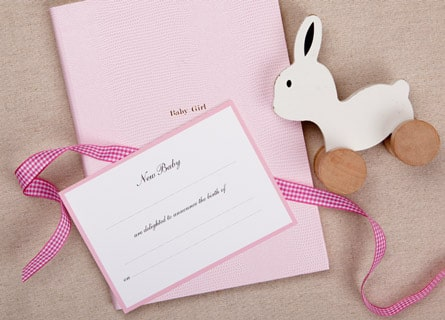 Birth Announcements Traditional or Modern?