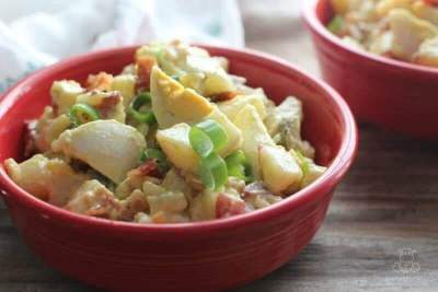 Potato Salad Recipe With Bacon And Egg