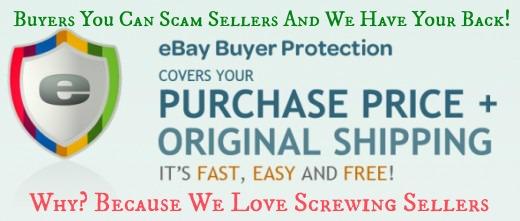ebay no seller protection. Black Bedroom Furniture Sets. Home Design Ideas