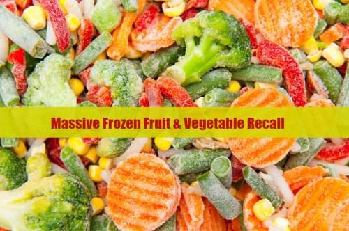 frozen food recall