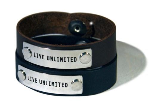 Live unlimited bracelet