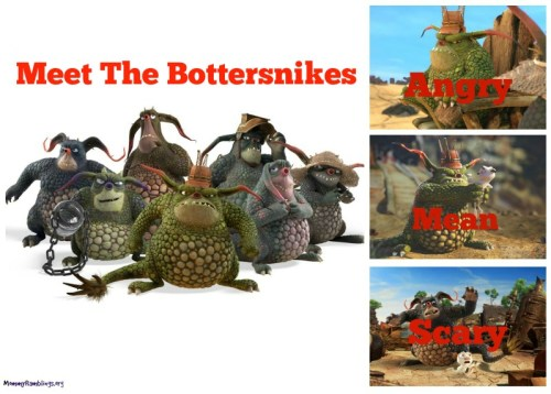 Meet The Bottersnikes Graphic