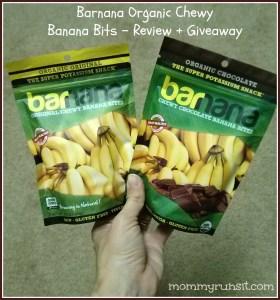 Barnana - Chewy Organic Banana Bites