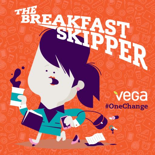 The Breakfast Skipper   #OneChange   Mommy Runs It