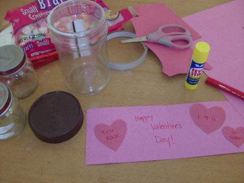 Valentine Craft With Baby Food Jar Mother Day Crafts Using Baby Food Jars