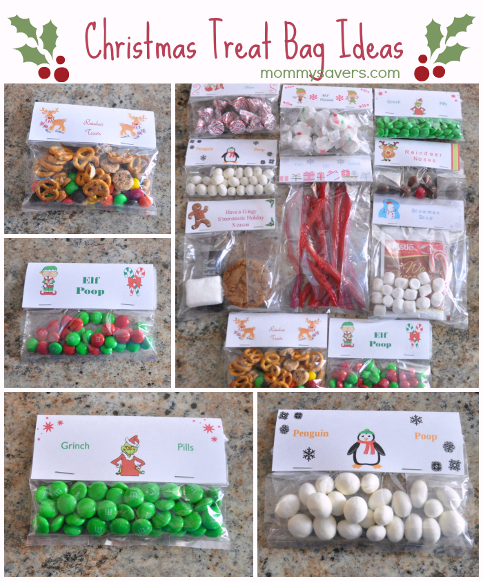 Christmas Treat Bag Ideas Ten Creative Examples - Mommysavers