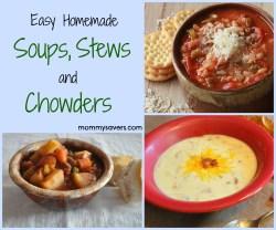Plush Easy Homemade Stews Chowders Easy Homemade Stews Chowders Mommysavers Soup Vs Stew Vs Chowder Soup Vs Stew Vs Chili