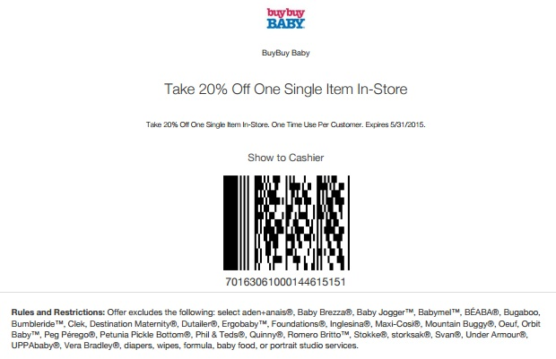 Buy Buy Baby Coupons - Printable Coupons In Store (Retail  Grocery) - buy buy baby job application