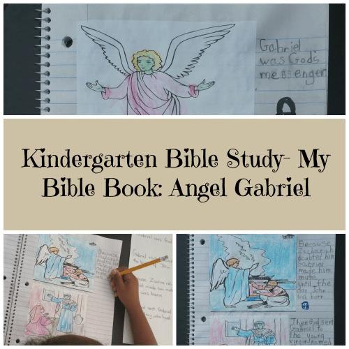Kindergarten Bible Study- My Bible Book: Angel Gabriel