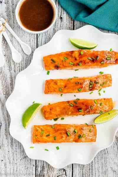 Skinny Glazed Salmon