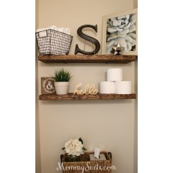 Small Crop Of In Wall Bathroom Shelves