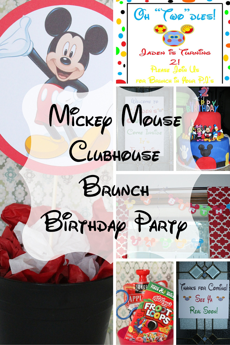 Mickey Mouse Birthday Brunch